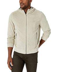 b58a801fe730 Levi's Faux Suede Lightweight Varsity Jacket in Gray for Men - Lyst