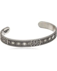 ALEX AND ANI - Path Of Life Cuff Bracelet, Rafaelian Silver, Expandable - Lyst