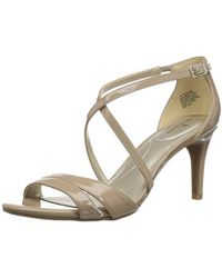 bf8a6a7b6cf49a Lyst - Bandolino Jeune Stiletto Sandals in Metallic
