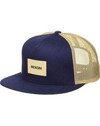 204401dfdfe97 Nixon - Unisex Team Trucker Hat - Lyst