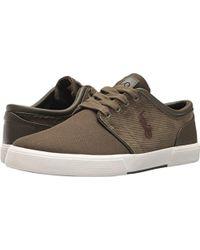 Polo Ralph Lauren - Faxon Low-canvas/corduroy Sneaker - Lyst