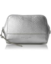 Liebeskind Berlin - Rhinebeck Metallic Leather Cosmetic Case - Lyst