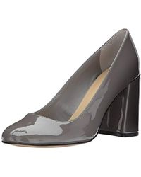 216d8cd478f2 Lyst - Ivanka Trump  brita  Ankle Strap Pointy Toe Pump in Gray