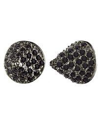 Eddie Borgo - Pave Small Cone Stud Earrings - Lyst