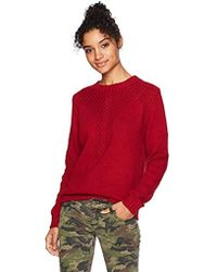 ed99b044c1 Roxy - Take Over The World Crew Neck Sweater - Lyst