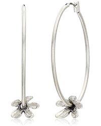Lucky Brand - Tulip Hoop Earrings - Lyst