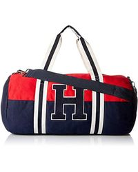 Tommy Hilfiger - Duffle Bag Tommy Patriot Colorblock - Lyst 6018f53deb03a