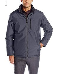 Izod - Fully Reversible Insulated Rip-stop Jacket - Lyst