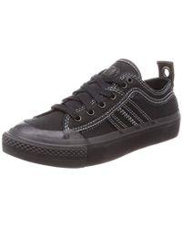 DIESEL S-astico Low Lace W Sneakers - Black