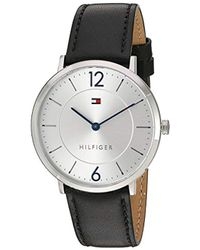 Tommy Hilfiger - 'sophisticated Sport' Quartz Resin And Gold-tone-stainless-steel Casual Watch, Color:gold (model: 1791365) - Lyst