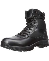 Javelin Inside Zip Military And Tactical Boot Black