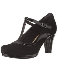 Clarks - Angie Kendra, Ankle Strap Pumps - Lyst