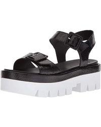0f9cb06b5a3870 Lyst - Jimmy Choo Wave Metallic Leather Thong Sandal in Metallic