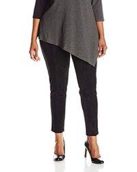 Calvin Klein - Plus Size Essential Power Stretch Panel Front Legging - Lyst