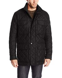 Marc New York - Essex Quilted Four-pocket Coat - Lyst