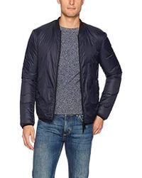 Armani Jeans - Plus Size Nylon Full Zip Bomber Jacket - Lyst