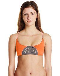 Rip Curl - Bomb Laser Cut Bra Bikini Top - Lyst