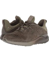 2d38f3431 Lyst - adidas Alphabounce Lea Running Shoes in Green for Men