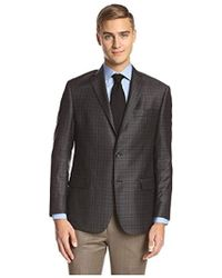 Franklin Tailored - Large Plaid Triton Sportcoat - Lyst