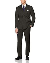 Kenneth Cole - Double Breasted Modern Fit 6 Button Suit - Lyst