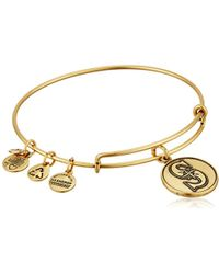 ALEX AND ANI - Seattle Mariners Cap Logo Expandable Bangle Bracelet - Lyst