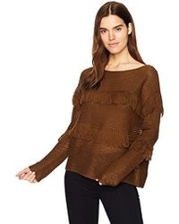 Lucky Brand - Fringe Pullover Sweater - Lyst