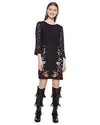 Desigual Vest_vermond Dress - Black