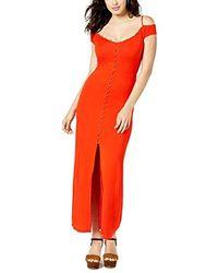 Guess - Sleeveless Ensley Maxi Dress - Lyst