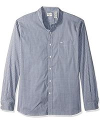 Dockers - Comfort Stretch Long Sleeve Button Front Shirt - Lyst