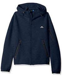 J.Lindeberg - Athletic Tech Hoodie - Lyst
