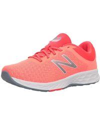 Lyst New Balance 896 Coral Pinkgrey Tennis Shoe 9.5 Women