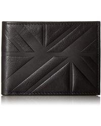 Ben Sherman - Woodside Park Full Grain Cowhide Leather Five Pocket Wallet With Rf - Lyst