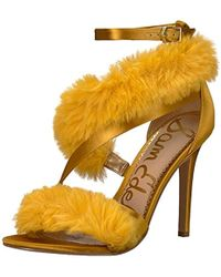 Sam Edelman Adelle Heeled Sandal - Yellow