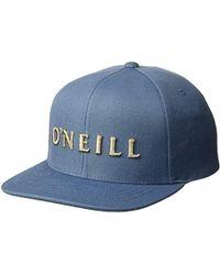 b37662d6c34b8 O neill Sportswear - Prevail Snapback Hat - Lyst