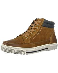 8eb92fb0a01c39 Kenneth Cole Reaction - Reaction Kenneth Cole High Rise Mid Sneaker - Lyst