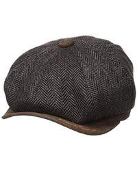Robert Graham Headwear Chauncey Newsboy - Brown