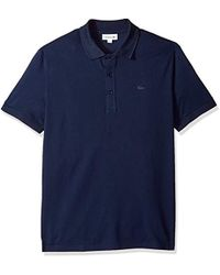 Lacoste - Short Sleeve Ultra Light Pique Tonal Croc Reg Fit Polo, Ph6394 - Lyst