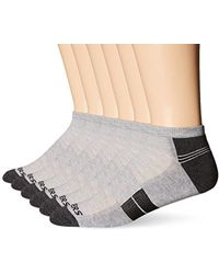 Skechers - 6 Pack Half Cushion Socks - Lyst
