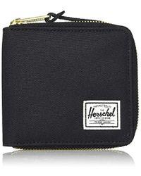 Herschel Supply Co. - Unisex-adults Wlat Rfid Blocking Full Zip Wallet, Black, One Size - Lyst