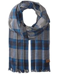 Original Penguin - Woven Large Check Scarf Accessory - Lyst