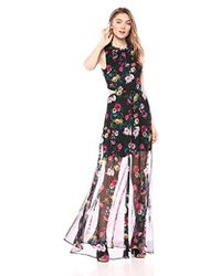 8051dd7e2a Ali   Jay - Bohemian Rhapsody Floral Printed Cut-out Hi-lo Maxi Dress