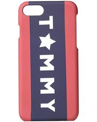 Tommy Hilfiger - Protective Hard Shell Case For Iphone 7 - Lyst