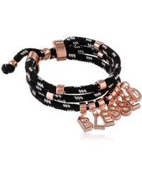 BCBGeneration - Blessed Camp Cord Pull Identification Bracelet - Lyst