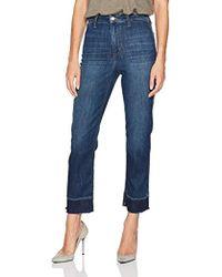Joe's Jeans - Jane High Rise Straight Crop In Cubana - Lyst