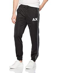 Armani Exchange - | Tpered Logo Jogger - Lyst