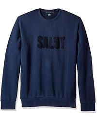French Connection - Salut Sweatshirt - Lyst