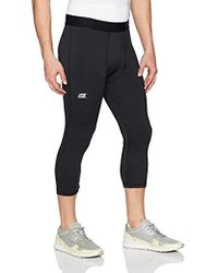 Capri Sportlegging.Skechers Capri Sport Legging In Black For Men Lyst