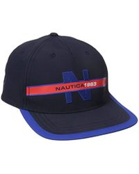 Nautica - Classic Heritage Logo Baseball Cap Hat - Lyst