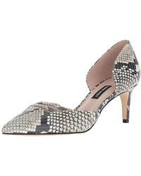 Nine West - Suitup Reptile Print Pump - Lyst