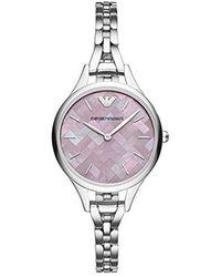 Emporio Armani - S Dress Watch - Lyst